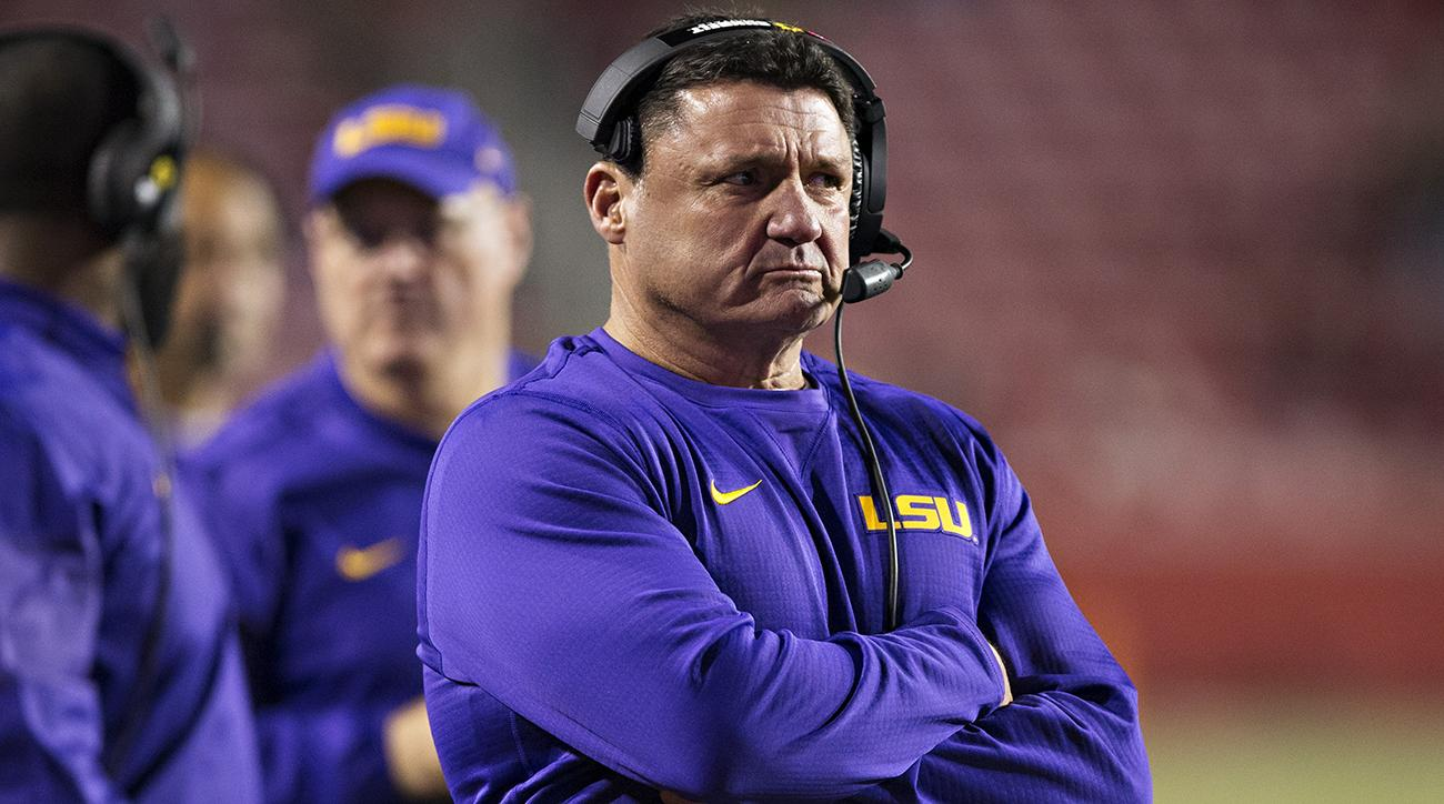 lsu to name ed orgeron coach