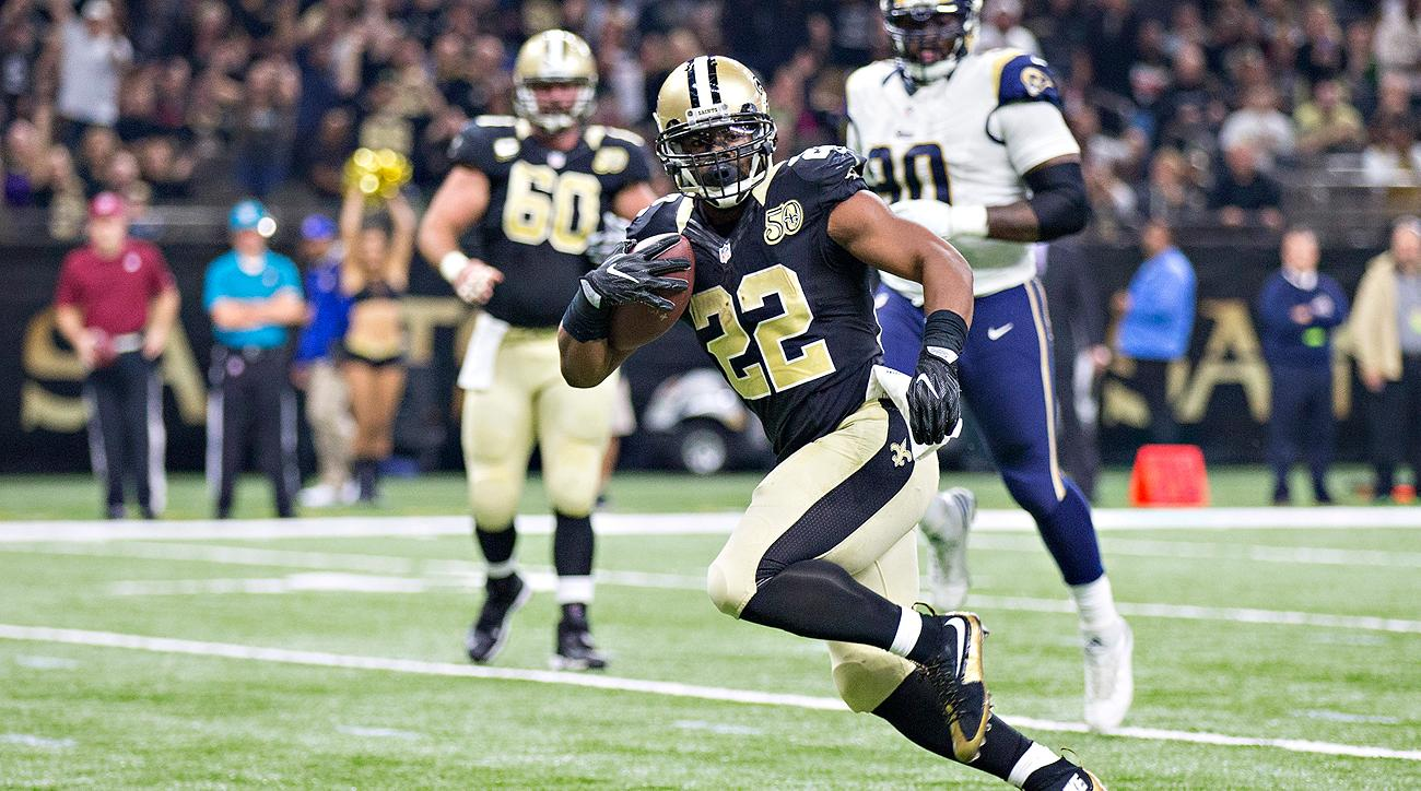 Saints RB Mark Ingram made it look easy against a talented Rams defense on Sunday.