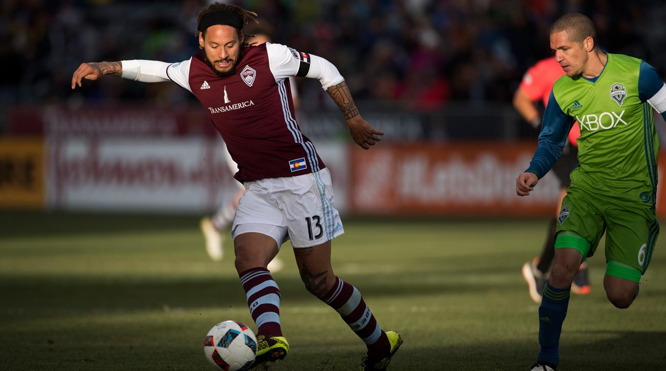 Jermaine Jones is unlikely to return to the Colorado Rapids