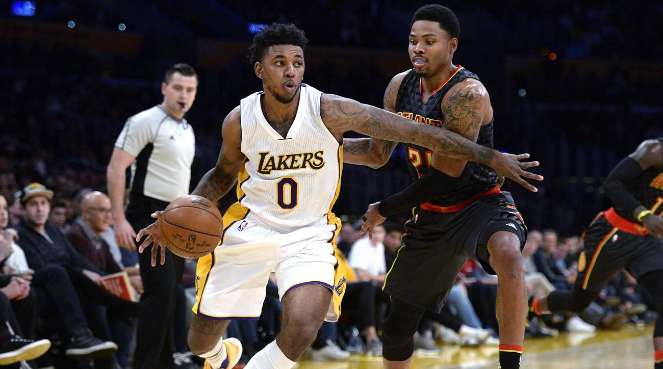 nick young lakers injury