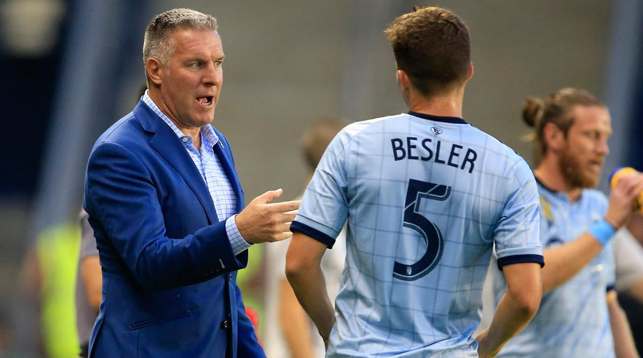 Peter Vermes remains manager of Sporting Kansas City