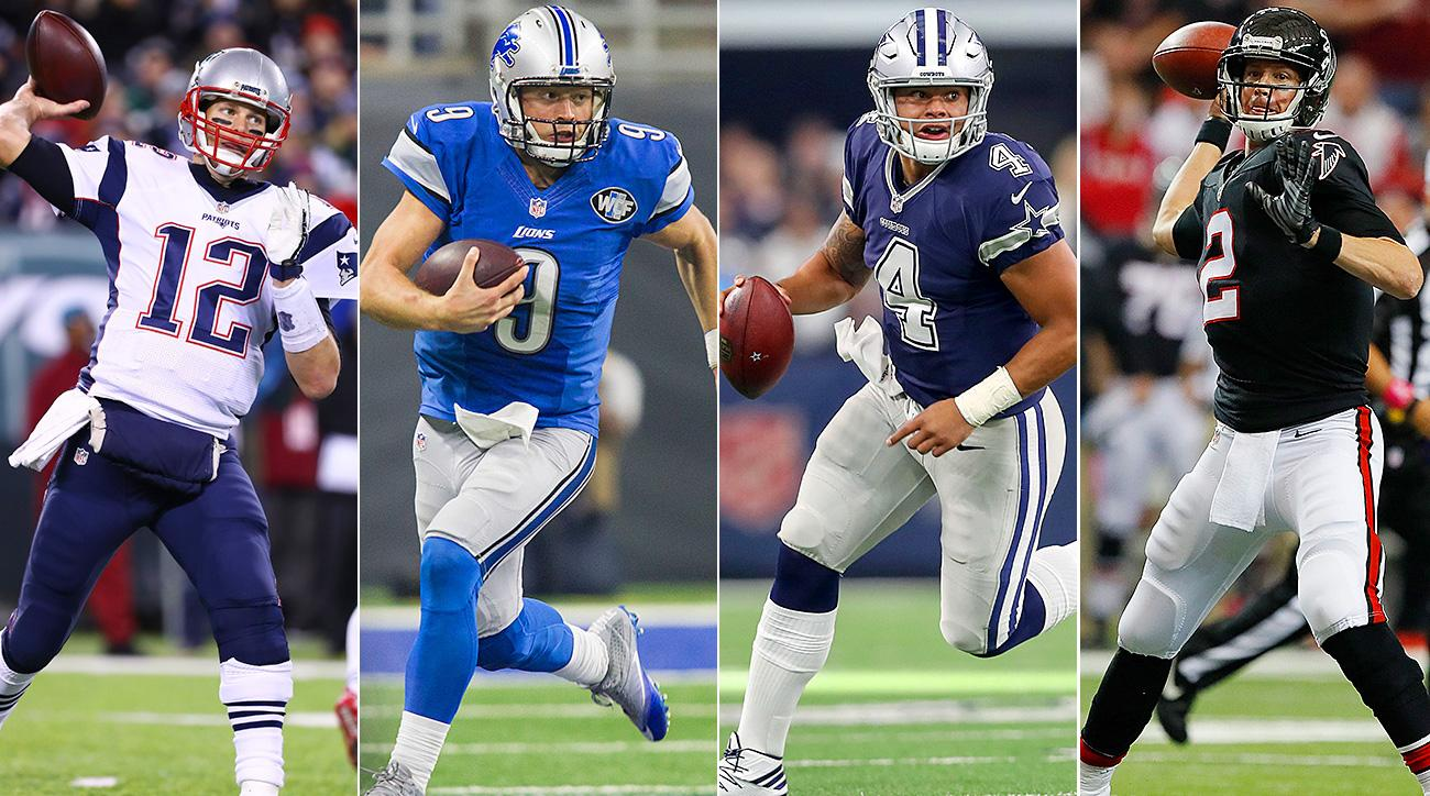 Ranking the NFL's eight divisions by their quarterbacks ...