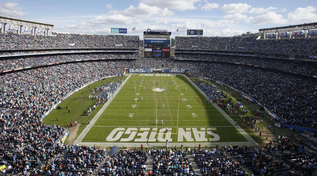 San Diego Chargers Expected To Move To Los Angeles In 2017