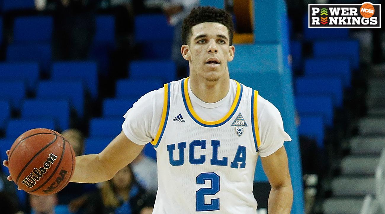 Why mens college hoops shouldnt switch to quarters si power rankings lonzo ball helps ucla leap frog into top 10 ccuart Images