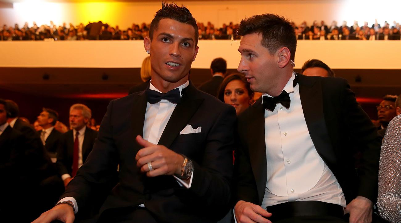 Messi and Ronaldo will vie for FIFA Player of the Year again