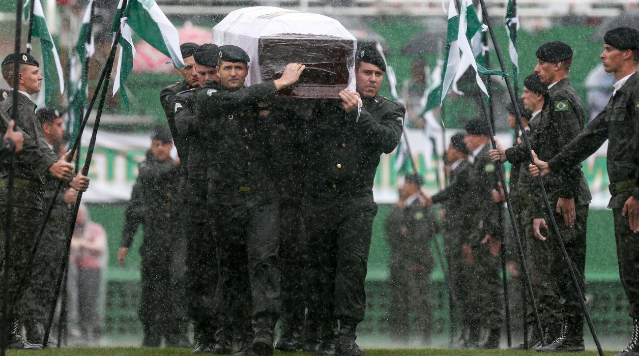 chapecoense funeral