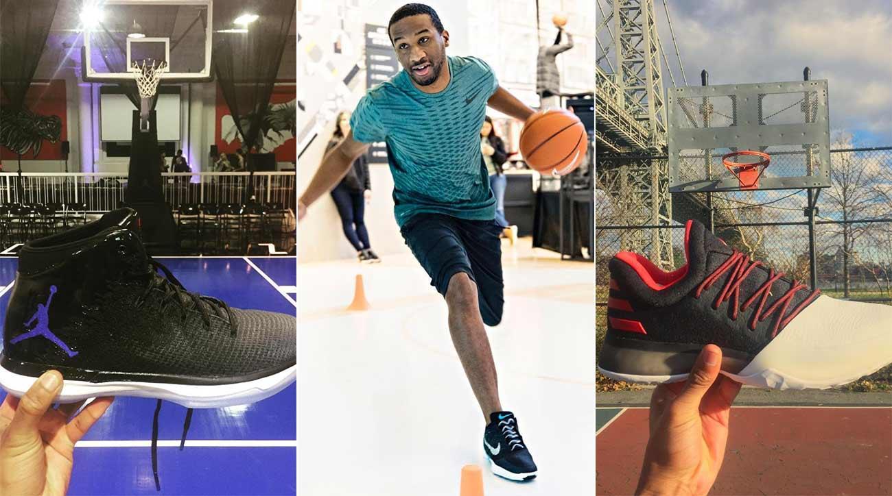 Nike, adidas and Jordan Brand