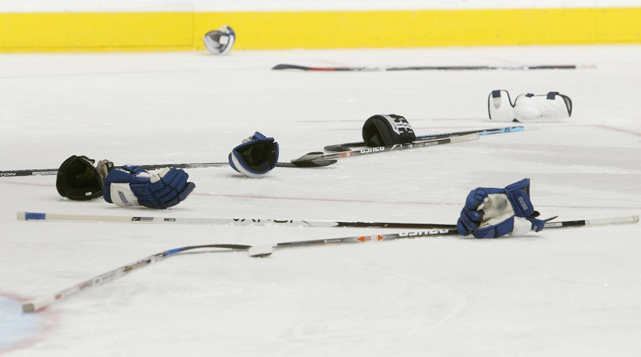 Swedish junior hockey game features 871 penalty minutes