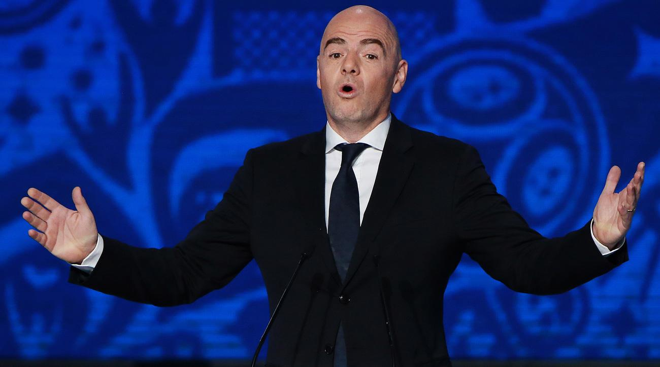 Gianni Infantino wants a World Cup with 48 teams and 16 groups
