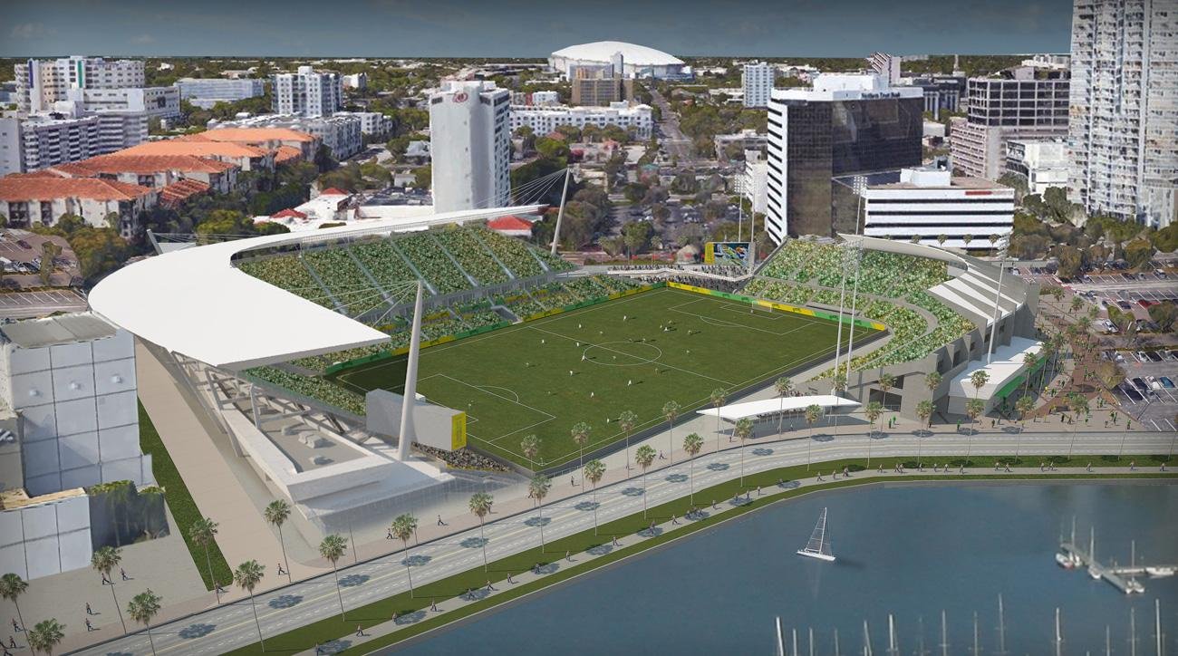Tampa Bay's Al Lang Stadium could be renovated for an MLS expansion team