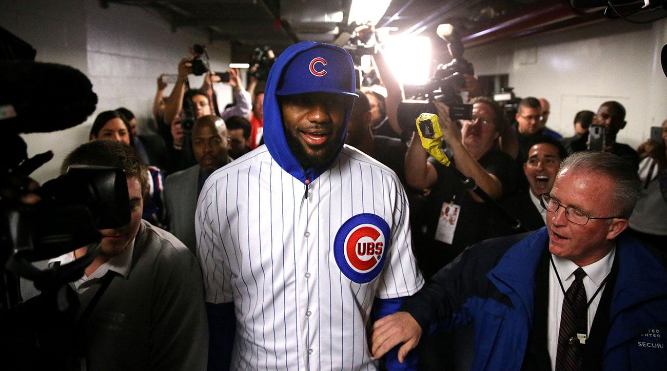 lebron james cubs joe maddon invite