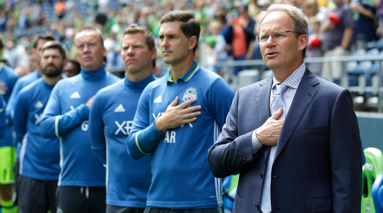 Brian Schmetzer has led the Seattle Sounders to the MLS Cup final