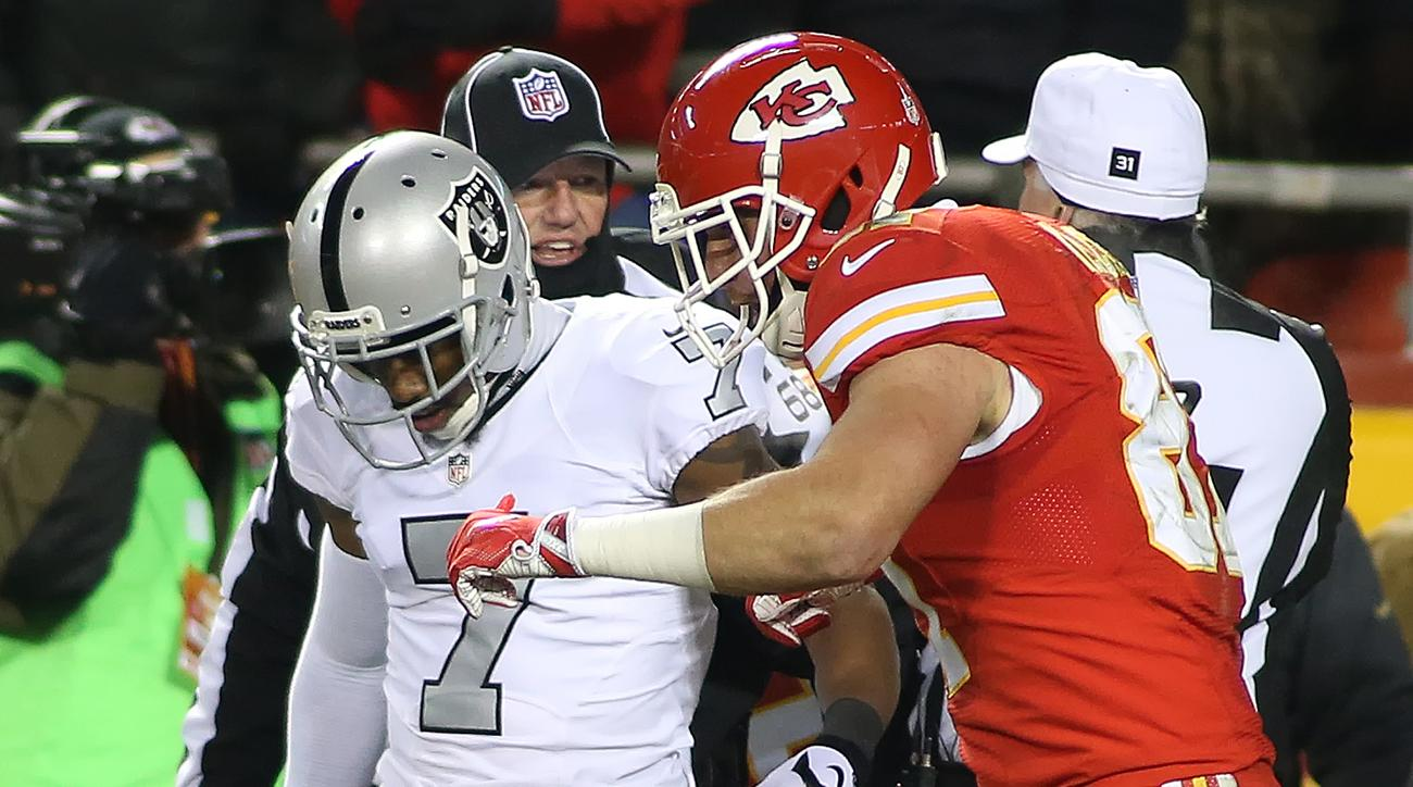 Travis Kelce taunts Marquette King, starts feud