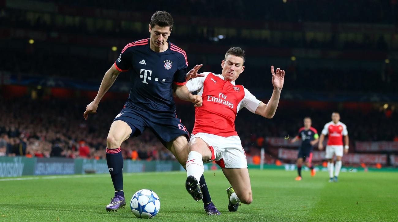 Bayern Munich and Arsenal will meet again in the Champions League