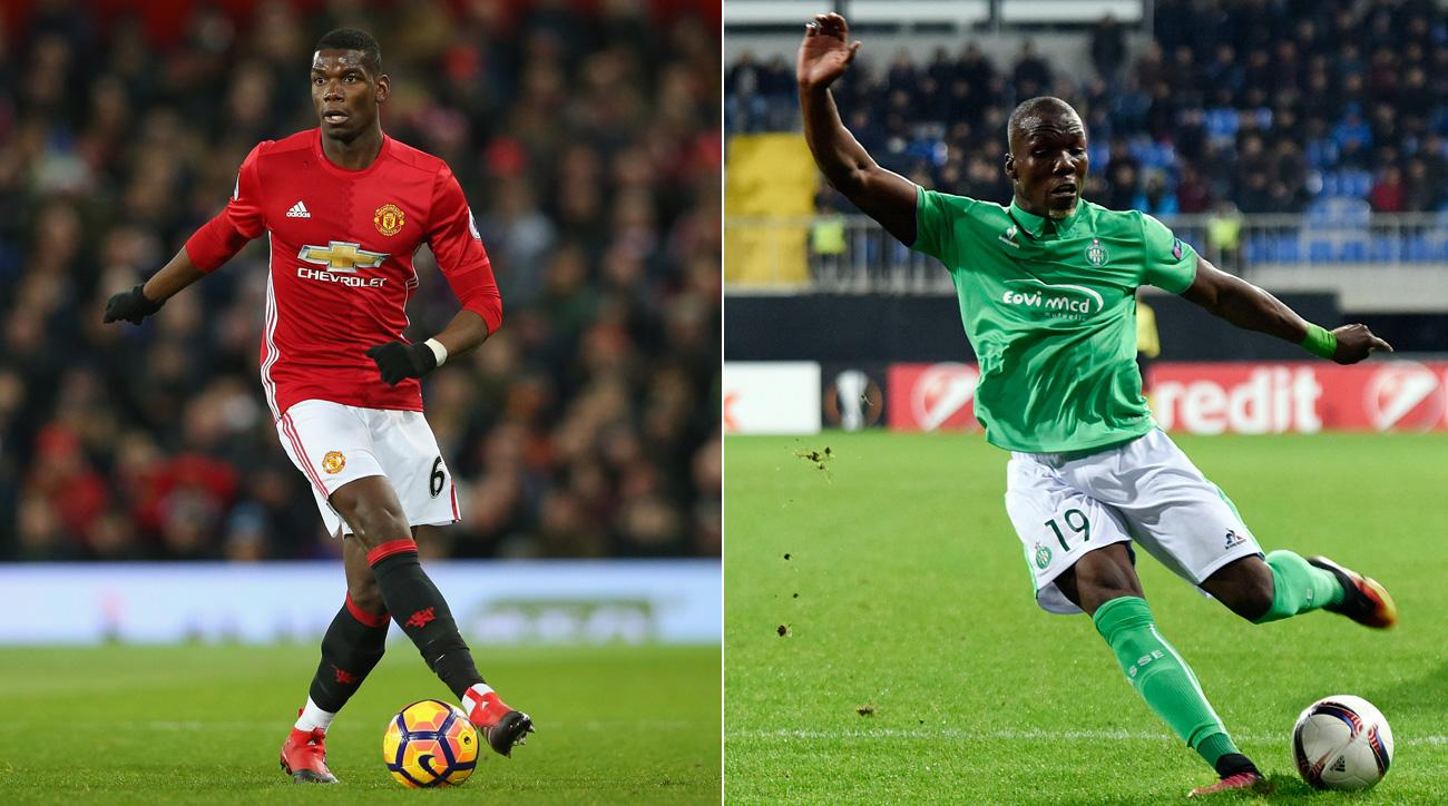 Paul Pogba and Florentin Pogba will meet in the Europa League