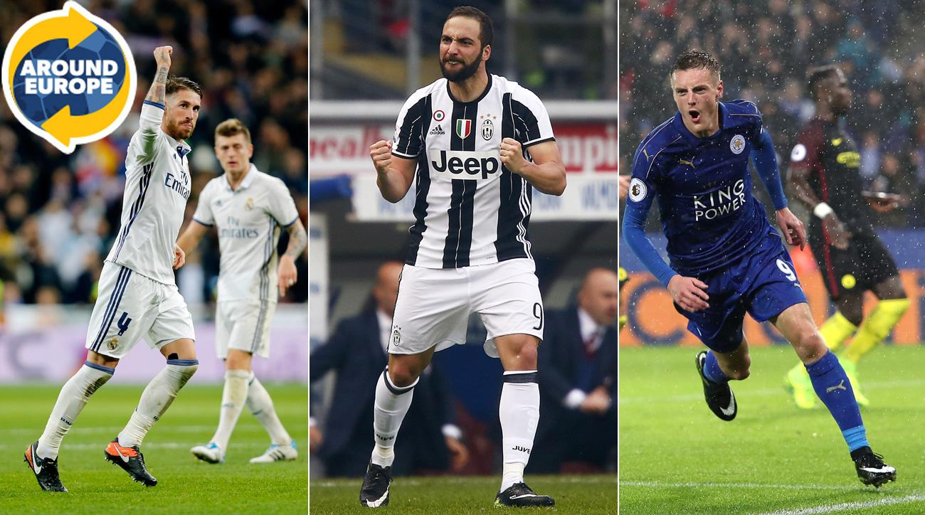 Sergio Ramos, Gonzalo Higuain and Jamie Vardy all stepped up over the weekend