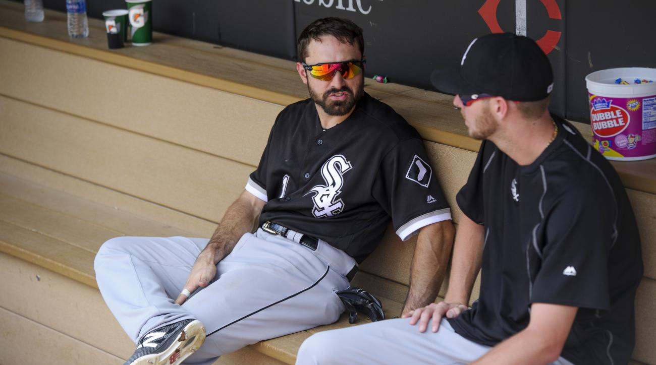 Adam Eaton on Chris Sale cutting up throwback jersey