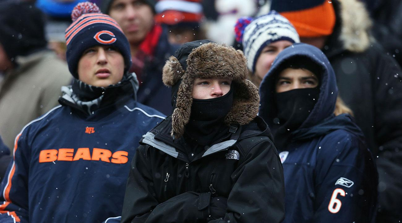 bears coldest games history