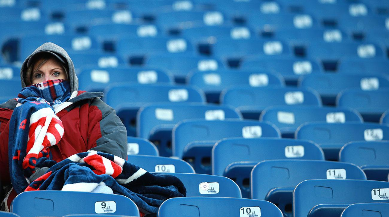 coldest nfl games in history