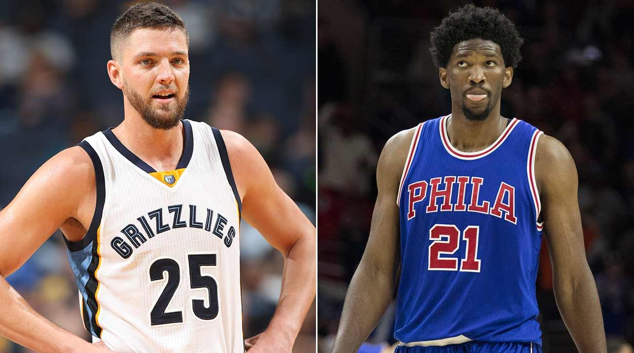 Chandler Parsons and Joel Embiid