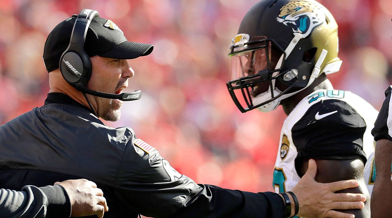 Jaguars fire Gus Bradley: Jacksonville head coach dismissed after loss to Texans
