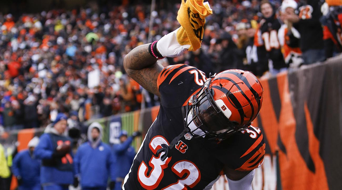 Jeremy Hill disrespects Terrible Towel, doesn't care