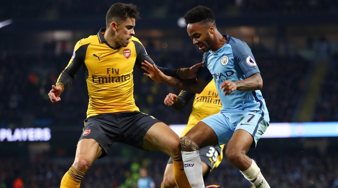 EPL Raheem Sterling keys Man City in eback win vs Arsenal