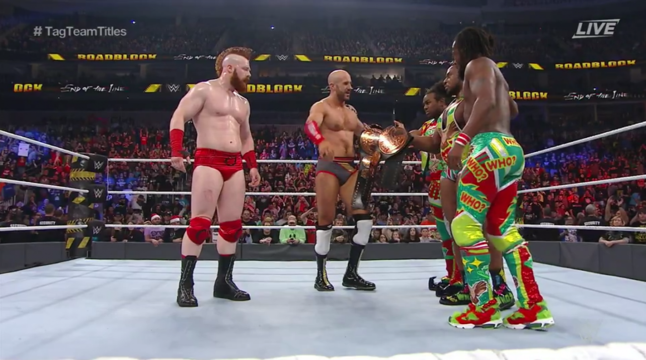 Sheamus and Cesaro beat New Day - 1221.9KB