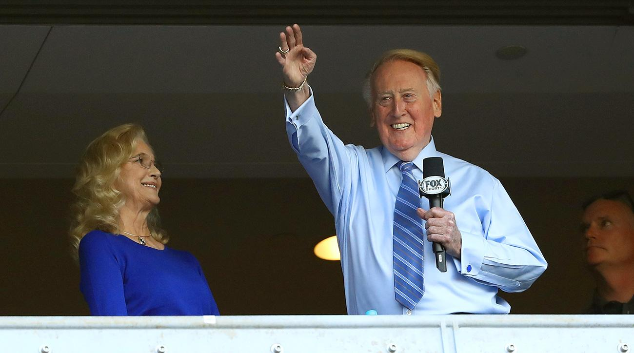 Vin Scully on anthem protests: 'I will never watch another National Football League game'