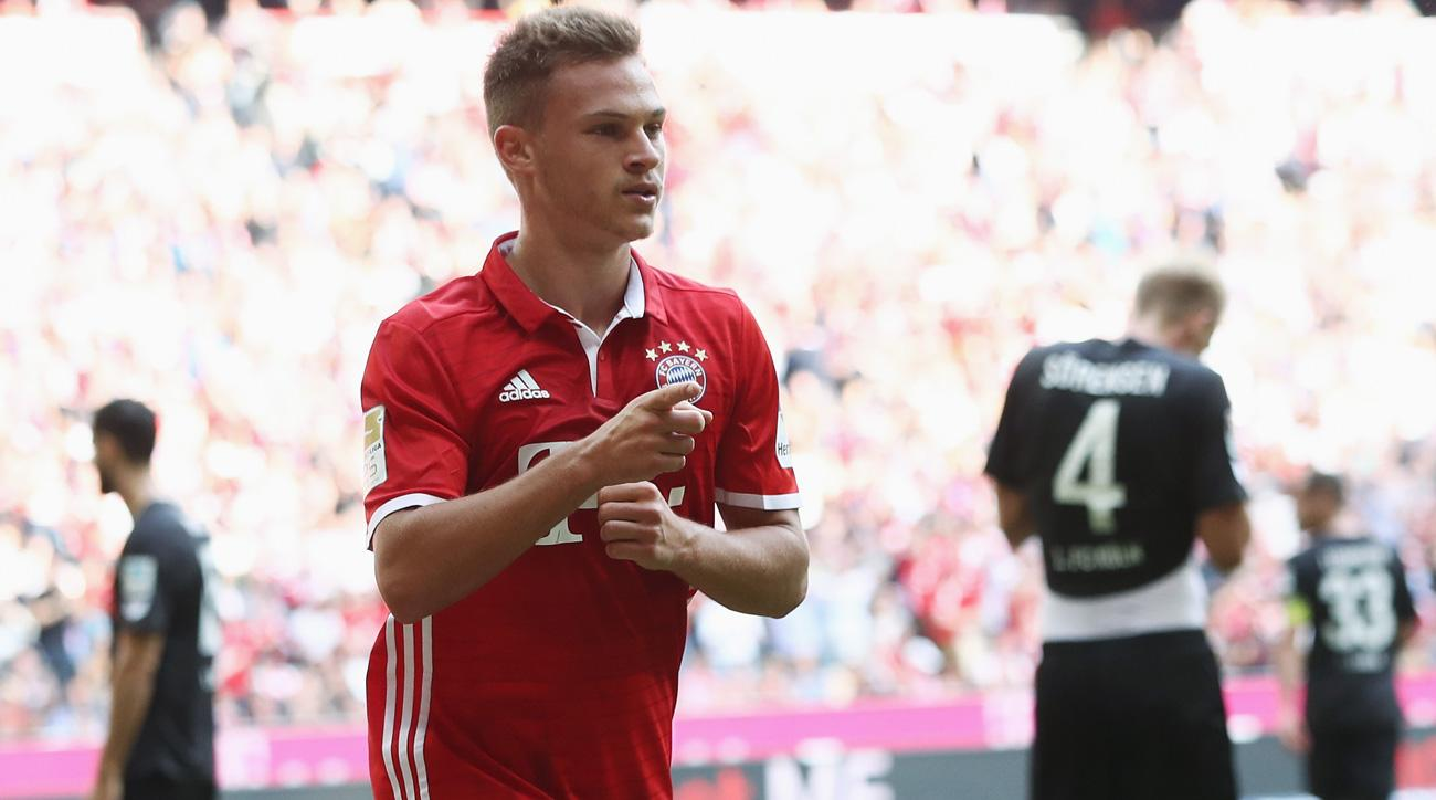 Joshua Kimmich is a rising star for Bayern Munich and Germany