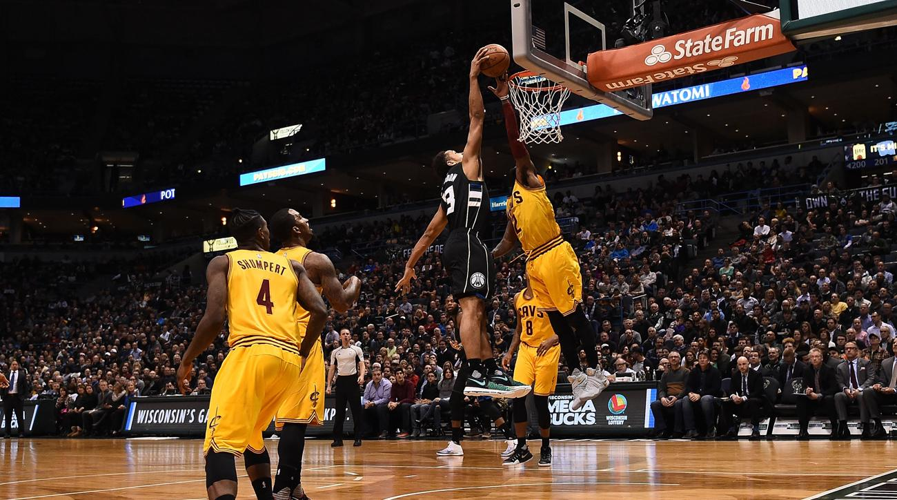 Image result for malcolm brogdon bucks dunk