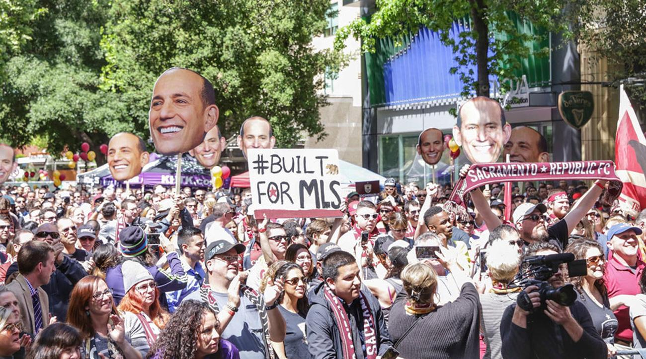 Sacramento Republic is vying for an MLS expansion franchise
