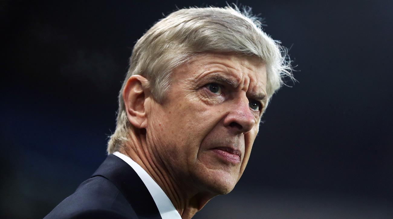 Arsenal manager Arsene Wenger remains under pressure at the Emirates
