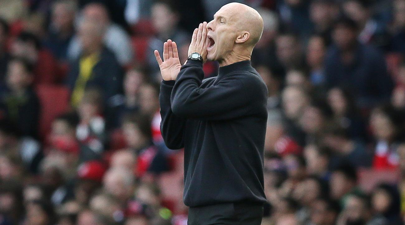 Bob Bradley is under pressure to deliver at Swansea City