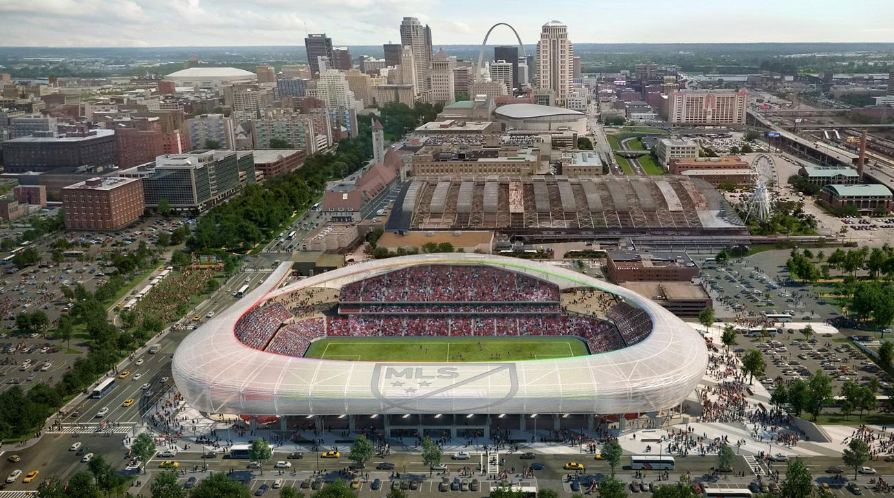 St. Louis wants an MLS expansion team