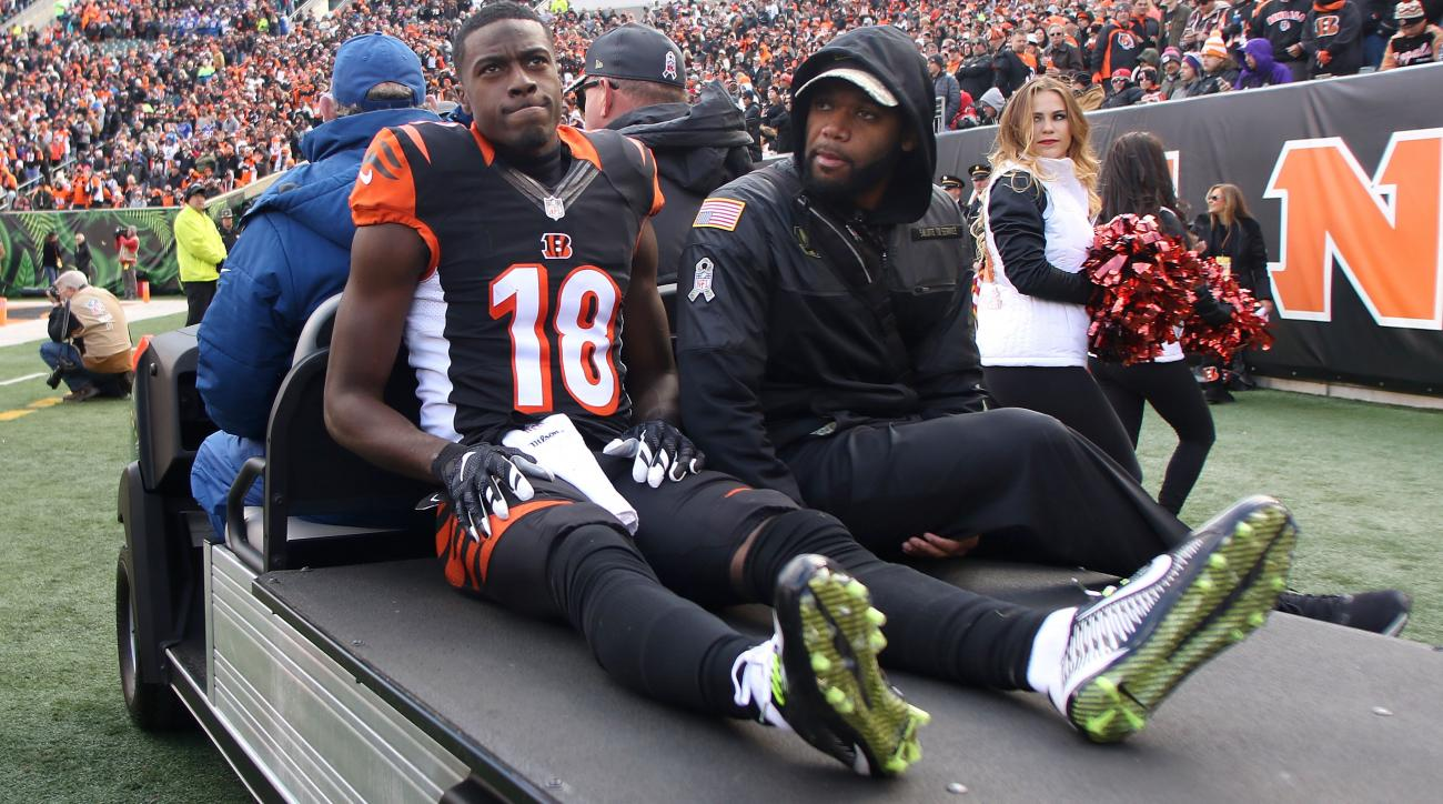 NFL actives/inactives: Fantasy football updates on AJ Green