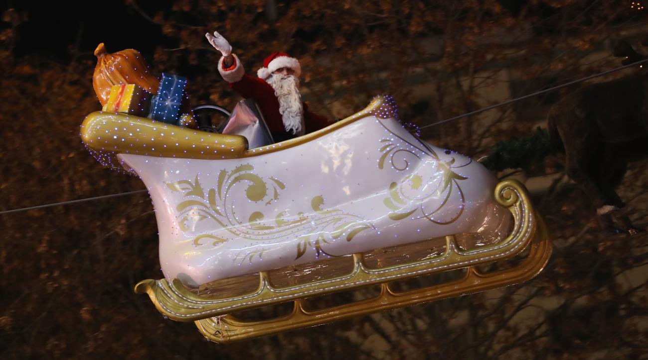 Santa tracker: Where is Santa?
