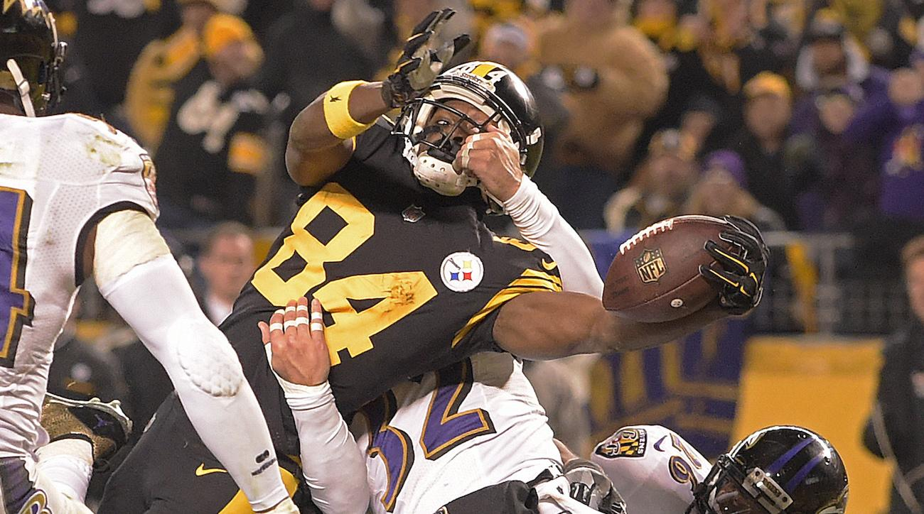 Steelers Vs Ravens Antonio Brown Td Fuels Epic Win Sicom
