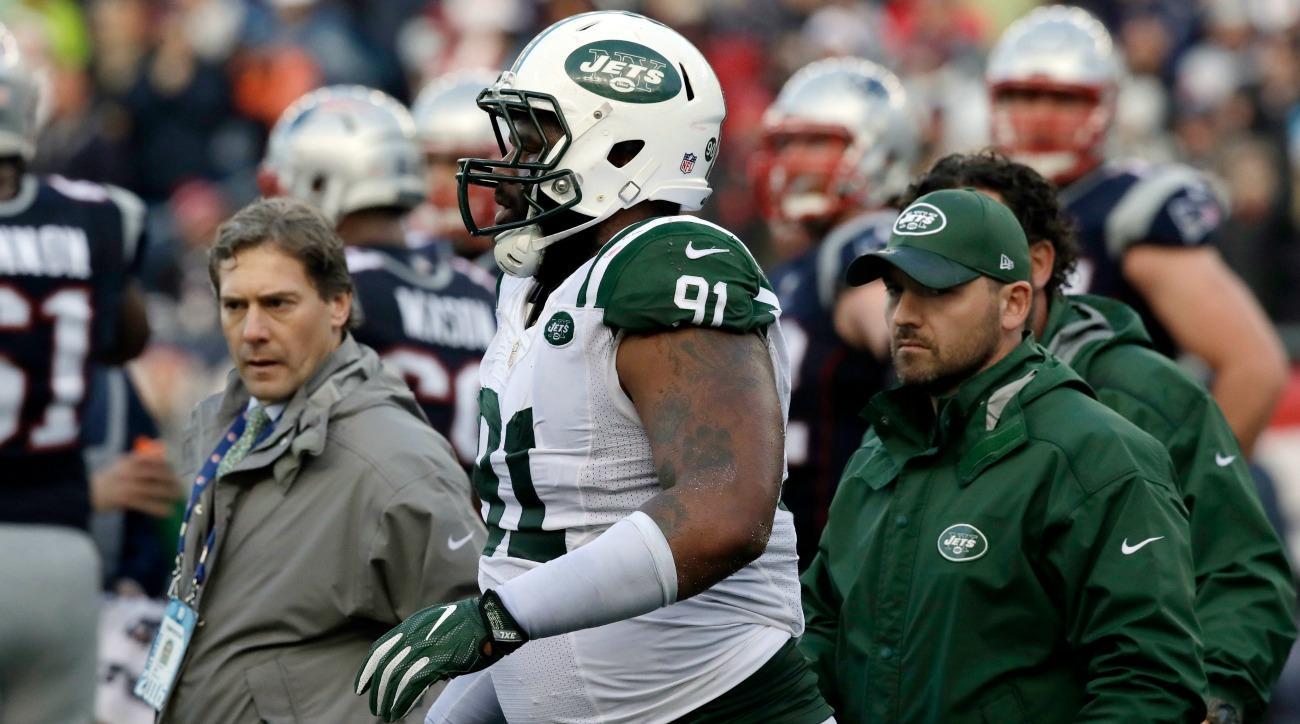 Sheldon Richardson bashed Brandon Marshall after the New York Jets' loss.