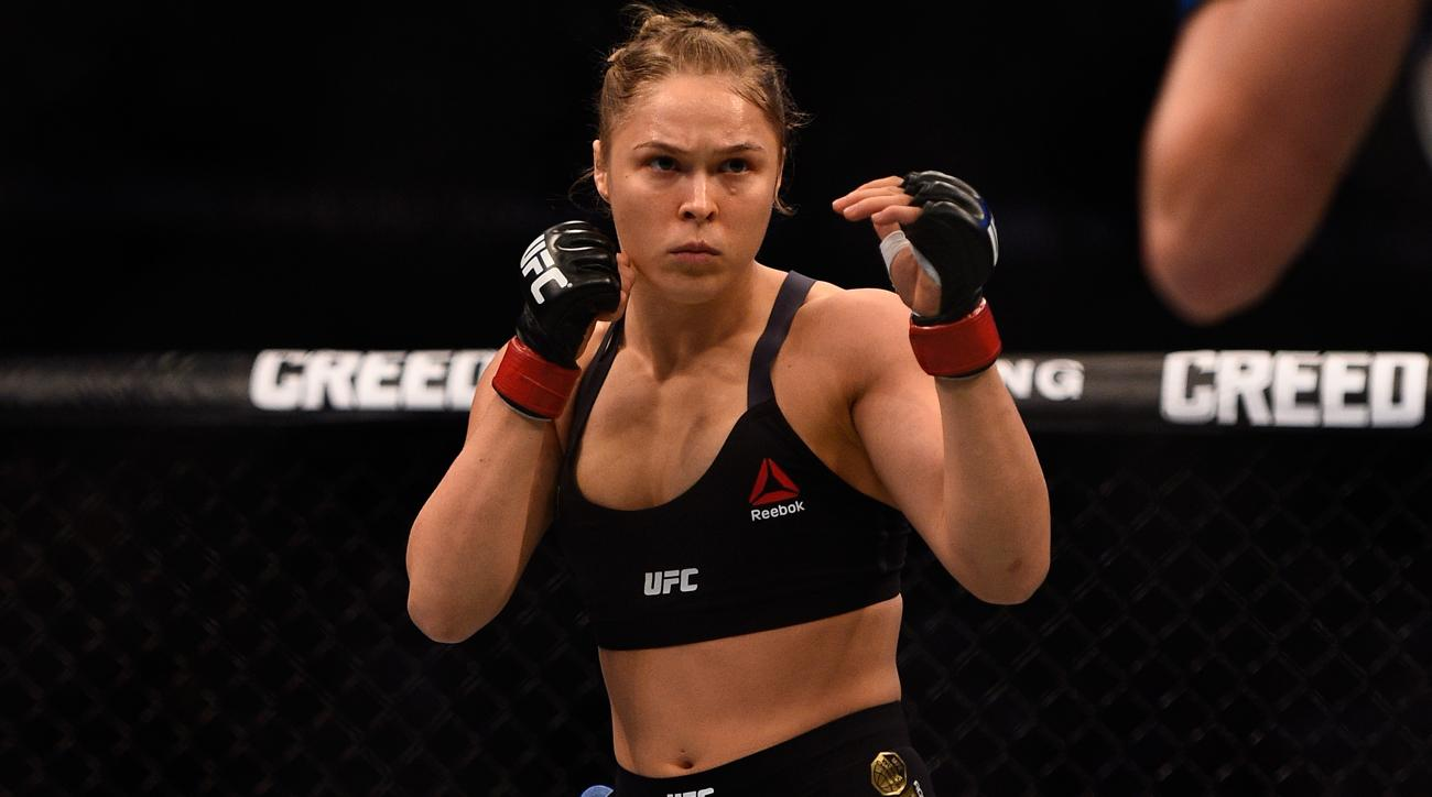 ronda rousey return, career timeline ufc
