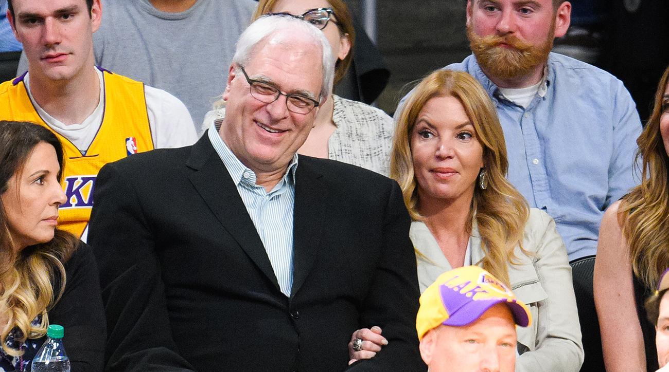 Phil Jackson-Jeanie Buss relationship addressed by NBA