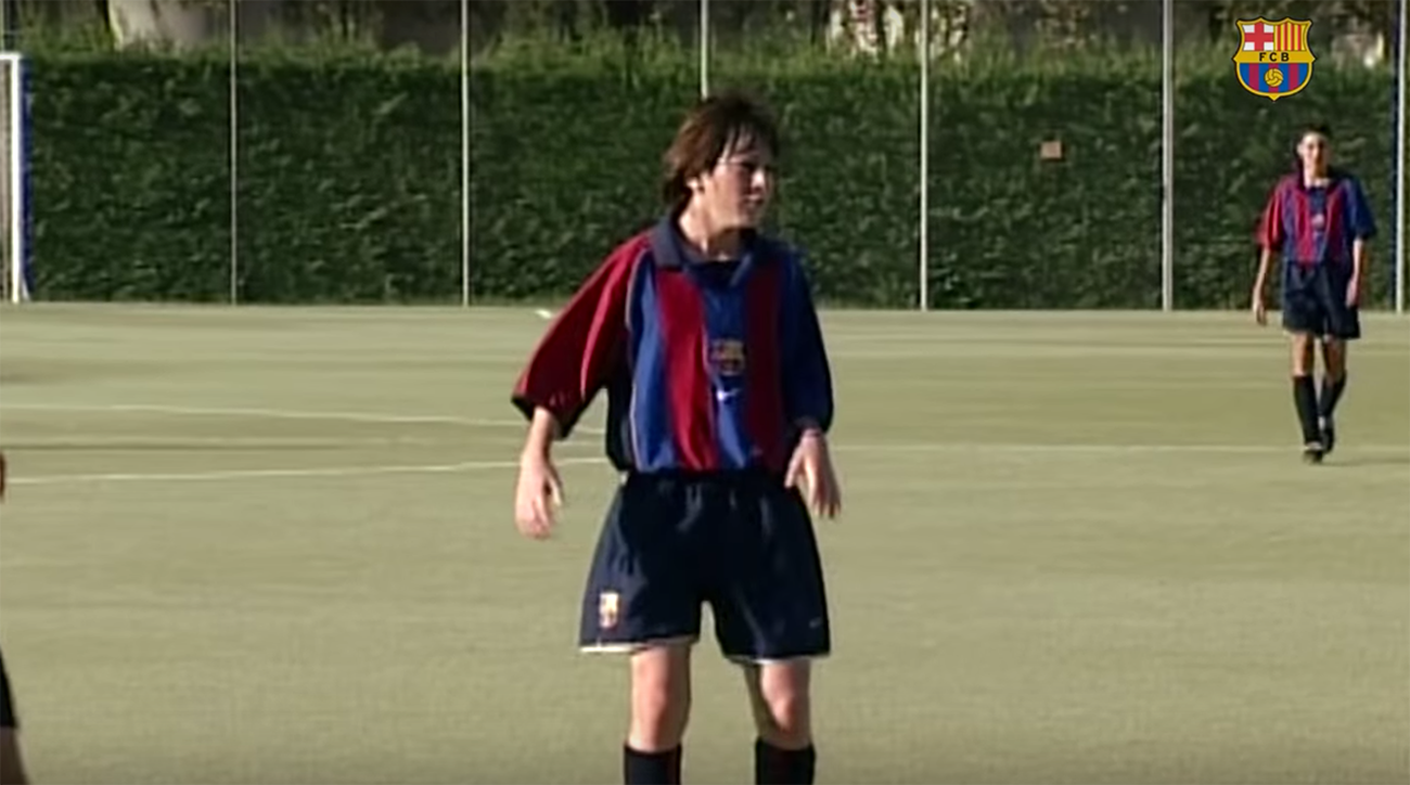 New video of young Lionel Messi confirms he's always been ridiculous