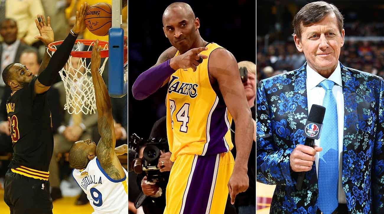 LeBron James, Kobe Bryant, Craig Sager