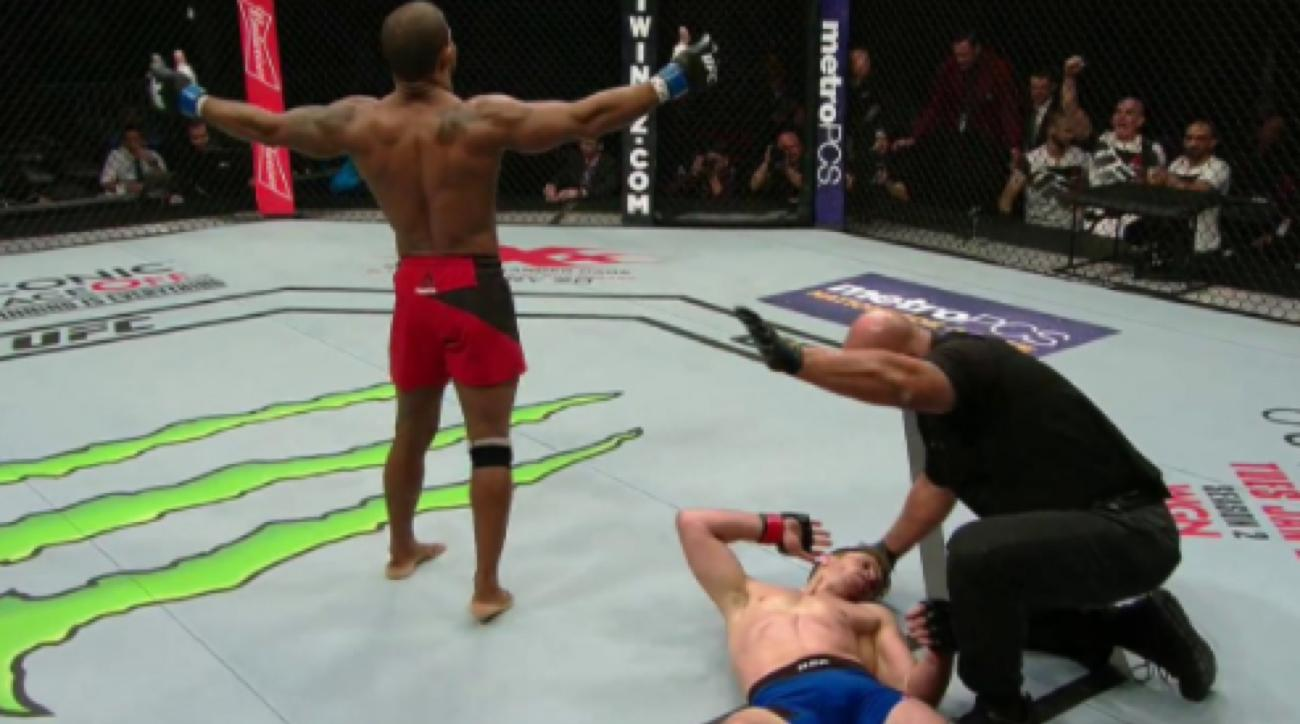 alex garcia mike pyle knockout video ufc 207
