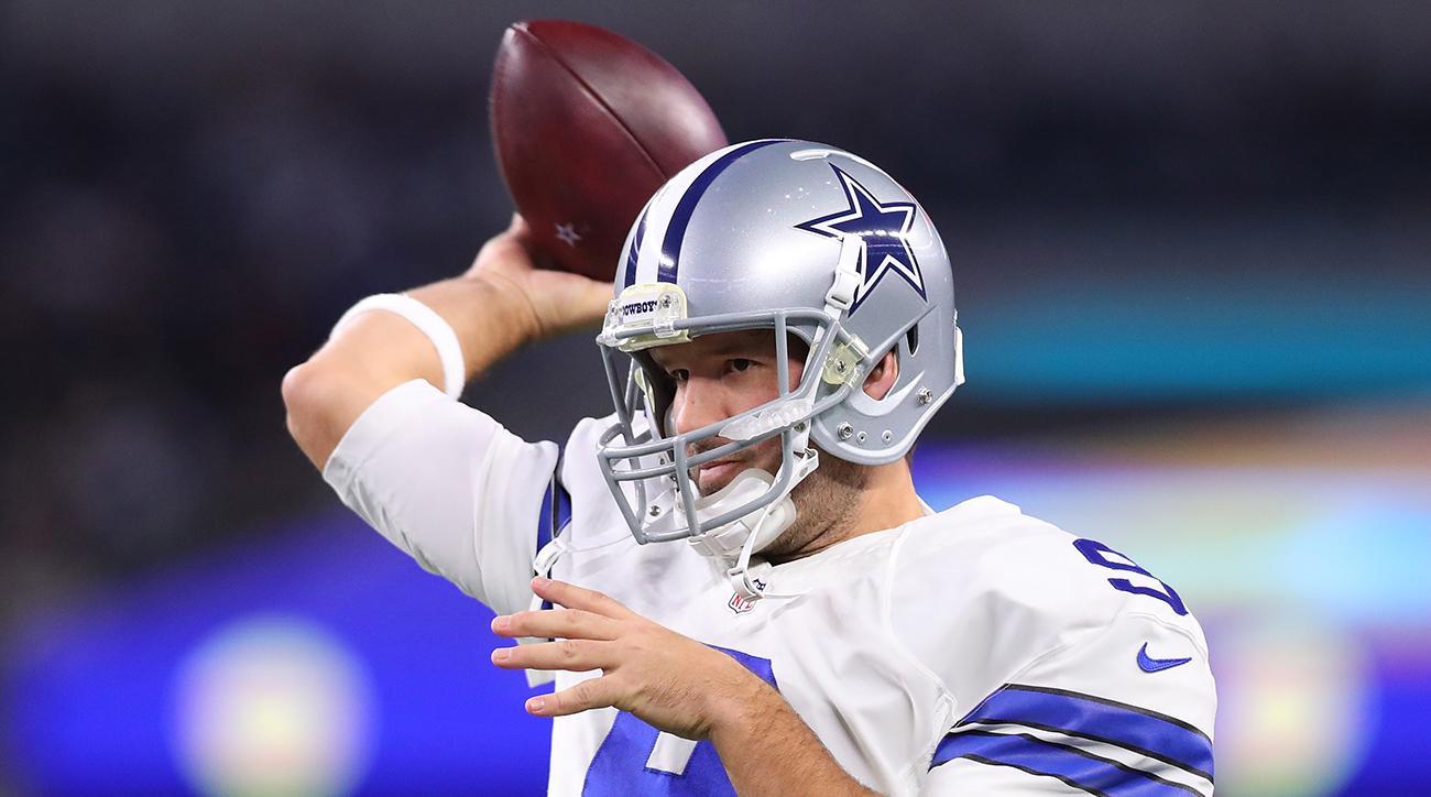Tony Romo to play Sunday behind Dak Prescott