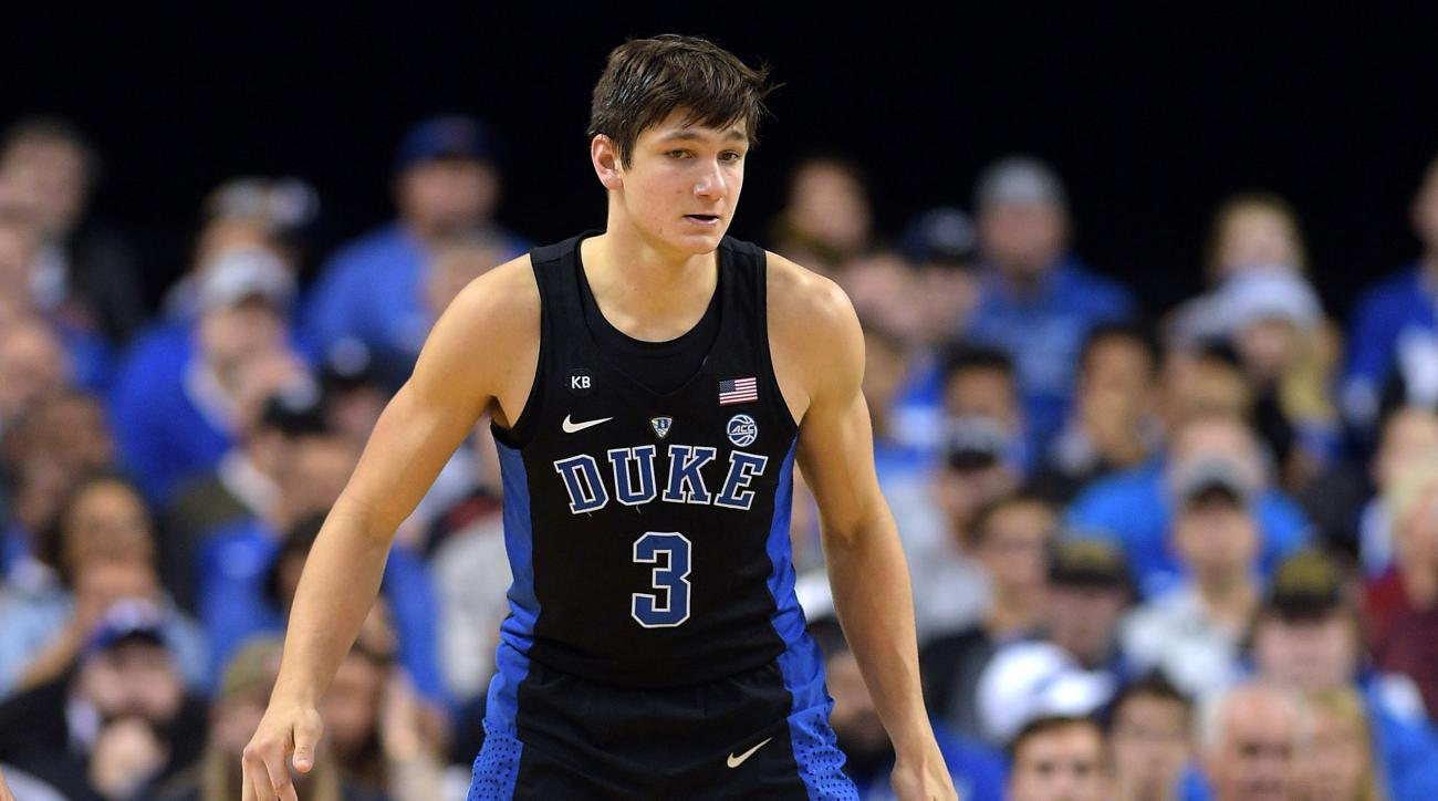 Duke's Grayson Allen stripped of captaincy after suspension