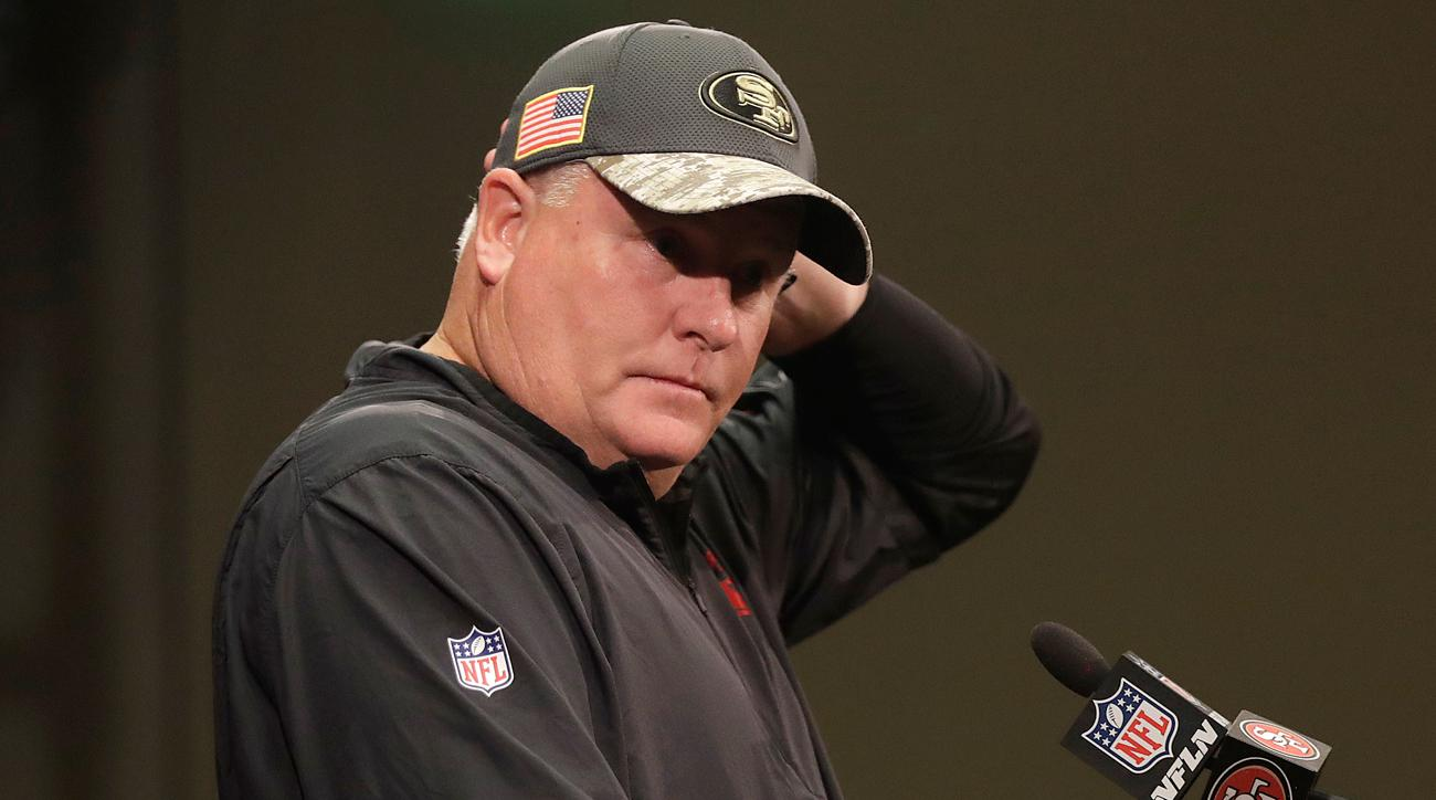 Chip Kelly was fired by the 49ers on Sunday, the second consecutive head coach dismissed after one season by the franchise.