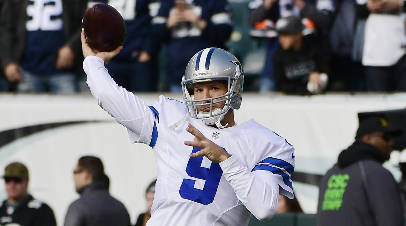 Tony Romo throws touchdown pass in season debut (Video)