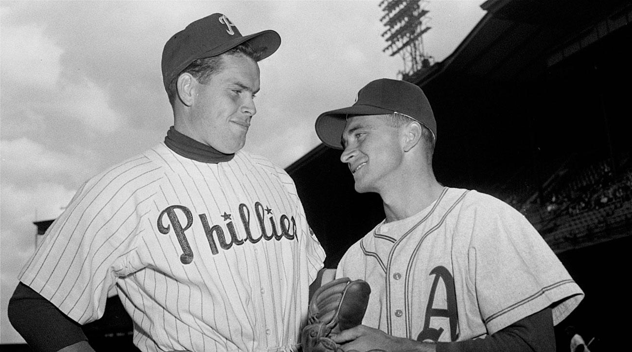 Robin Roberts, Philadelphia Phillies; Bobby Shantz, Philadelphia Athletics
