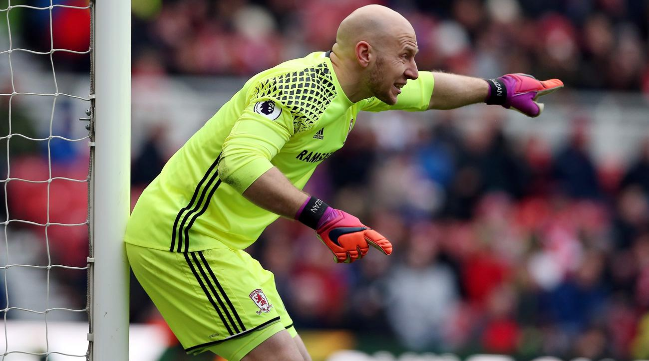 Brad Guzan helps Middlesbrough to a 0-0 draw vs. Leicester City